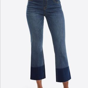 Spanx Crop Flare Jeans- NWT